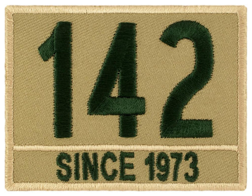 Khaki/Green Caption Custom Troop Numbers
