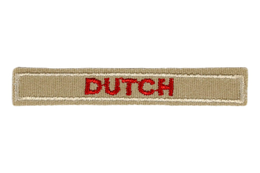 Dutch Interpreter Strip Tan
