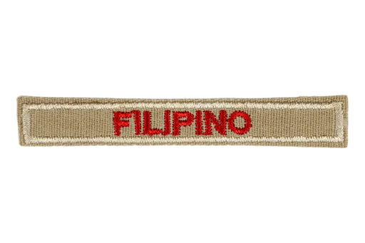 Filipino Interpreter Strip Tan