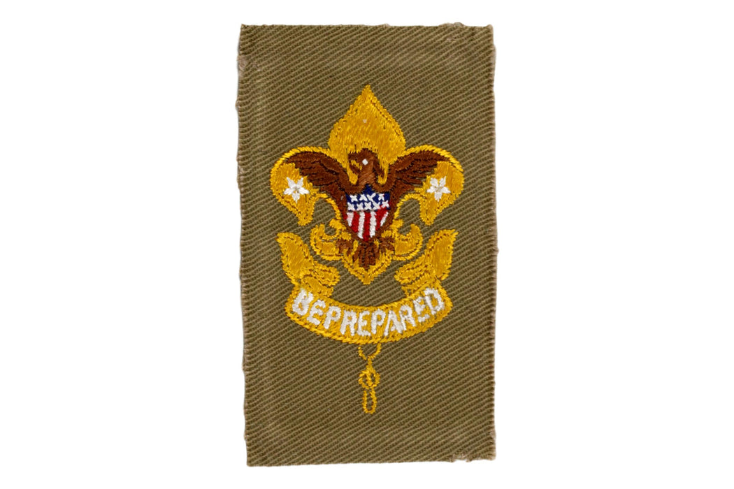 First Class Rank Patch 1920s Type 6
