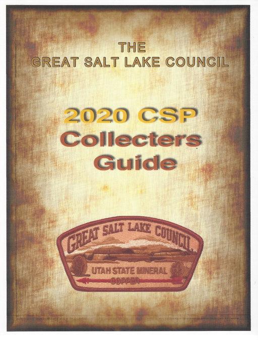Collecting Guide Collecting Great Salt Lake Council Shoulder Patches