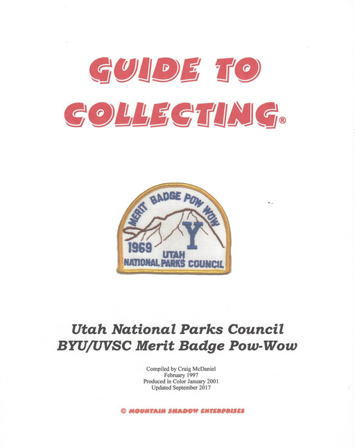 Guide to Collecting BYU Merit Badge Pow Wow