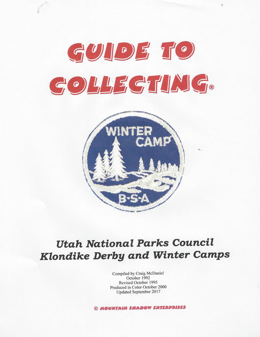 Guide To Collecting Utah National Parks Klondike Derby