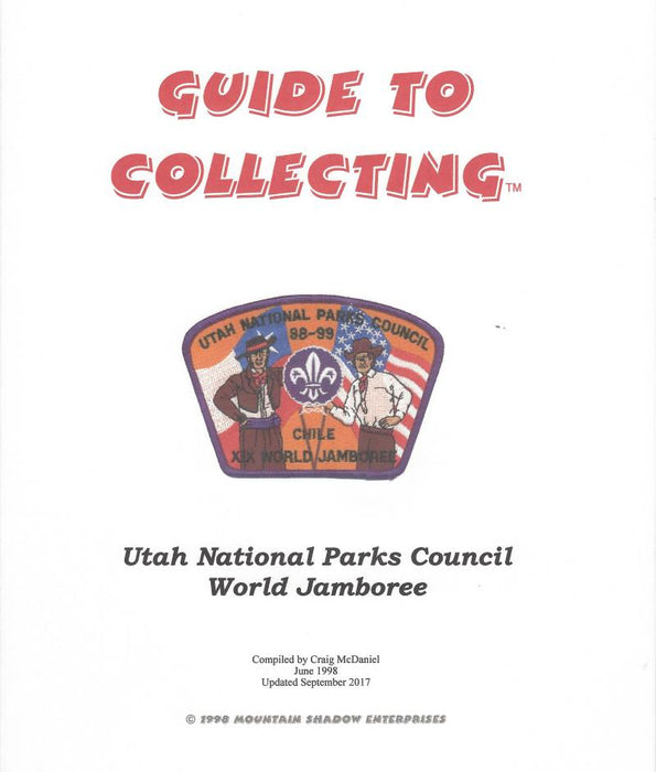 Guide to Collecting Utah National Parks World Jamboree Patches