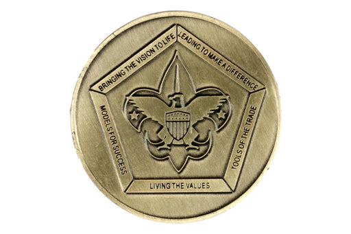 Wood Badge Coin - Its Your Move
