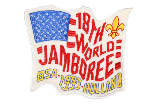 1995 WJ Jacket Patch USA Contingent