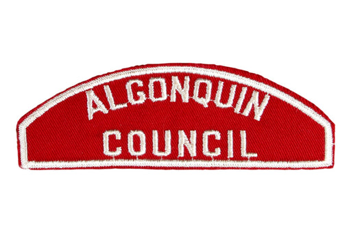 Algonquin Council/Red and White Council Strip