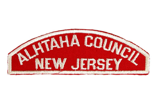 Alhtaha Council/New Jersey Red and White Council Strip