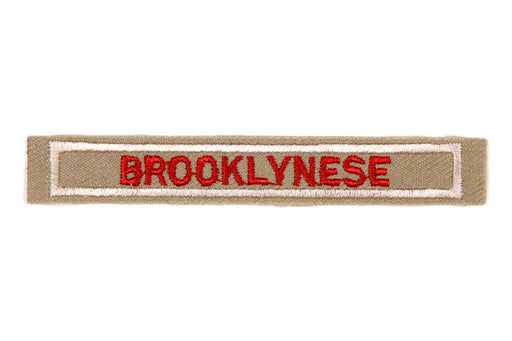 Brooklynese Interpreter Strip