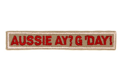 Austrailian Aussie Ay? G'Day! Interpreter Strip