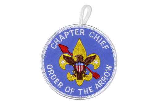 Chapter Chief Patch