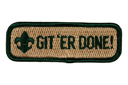 Git'er Done Trained Strip