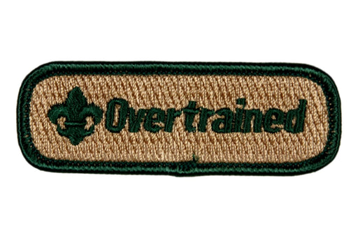 Overtrained Trained Strip