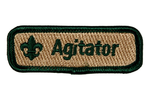 Agitator Trained Strip