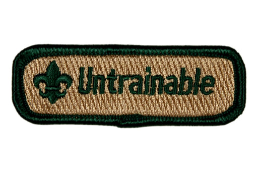 Untrainable Trained Strip Green