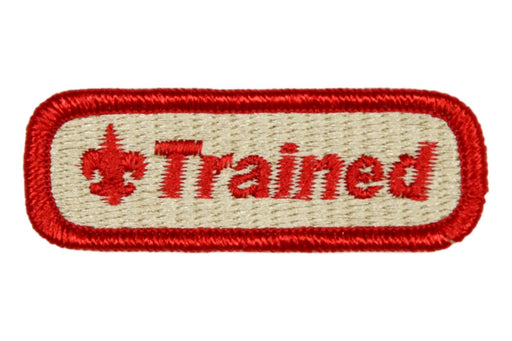 Trained Patch 2 3/4""