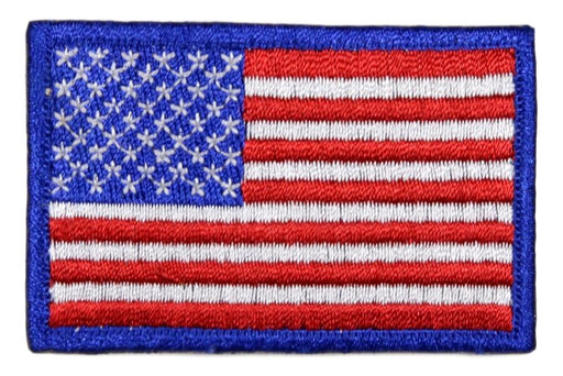 American Flag Embroidered Cut Edge 1970-1990s