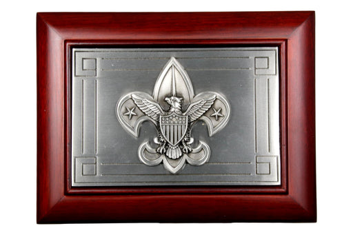 Boy Scout Wooden Jewelry Box