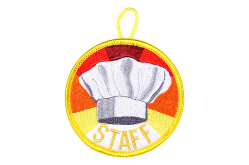Cook Staff Patch