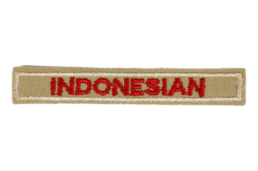 Indonesian Interpreter Strip Tan