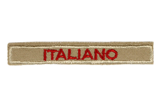 Italian Interpreter Strip Tan