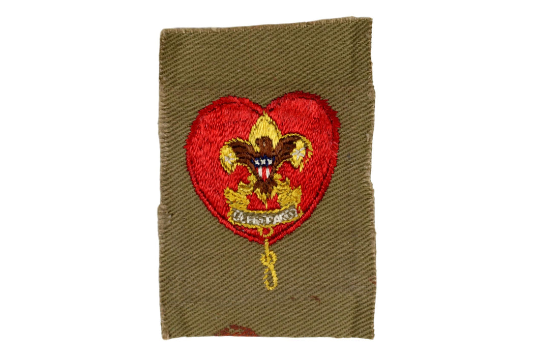 Life Rank Patch 1940s Type 5A