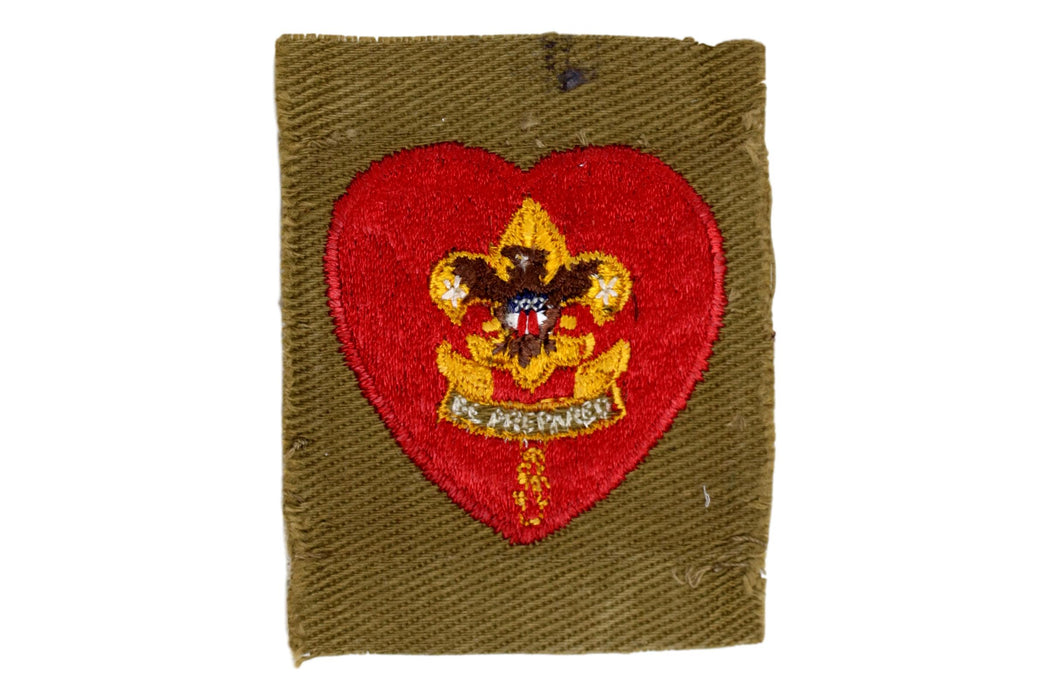 Life Rank Patch 1940s Type 7A