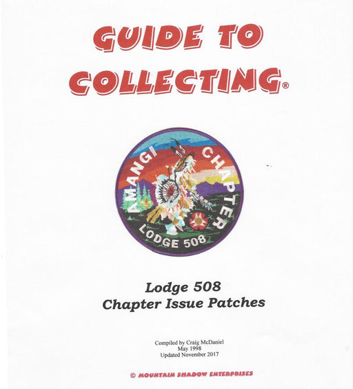 Guide to Collecting Lodge 508 Chapter Items