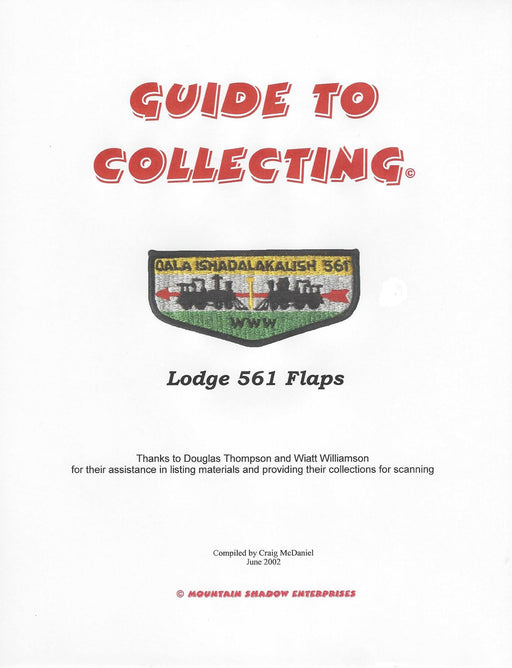 Guide to Collecting Lodge 561