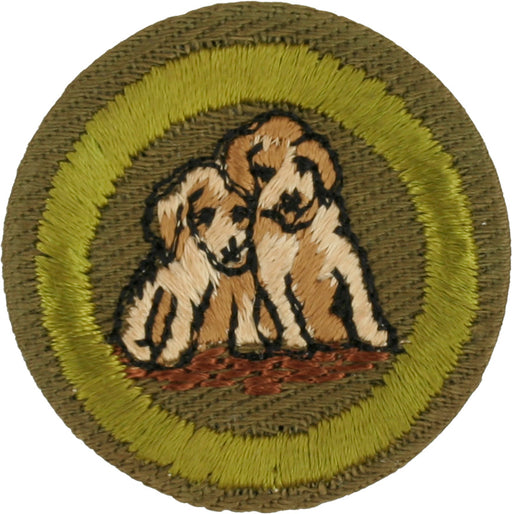Dog Care MB Khaki Crimped