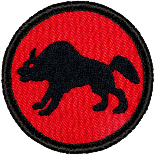 Retro Hyena Patrol Patch