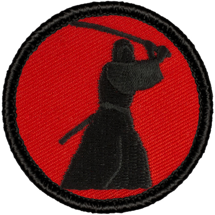 Retro Samurai Patrol Patch