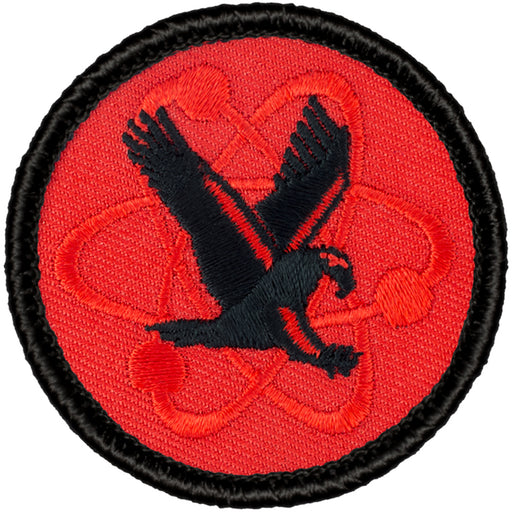 Retro Atomic Eagle Patrol Patch