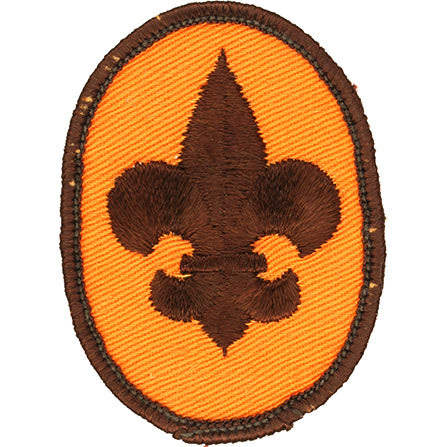 Boy Scout Rank Patch 1972 Gauze Back