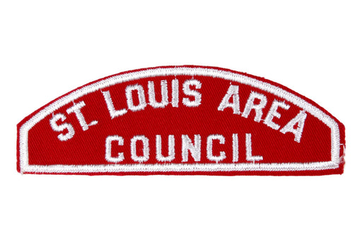 St. Louis Area Red and White Council Strip