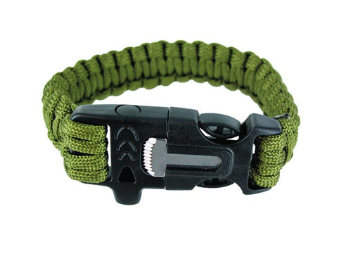 Survival Bracelet with Fire Striker