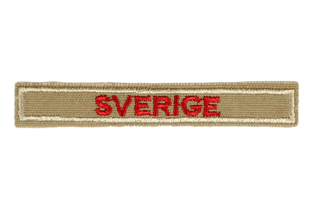 Swedish Interpreter Strip Tan