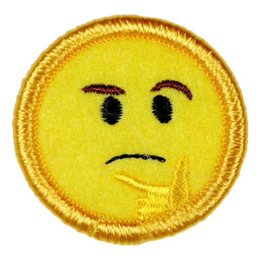 The Thinker Merit Badge Emoji