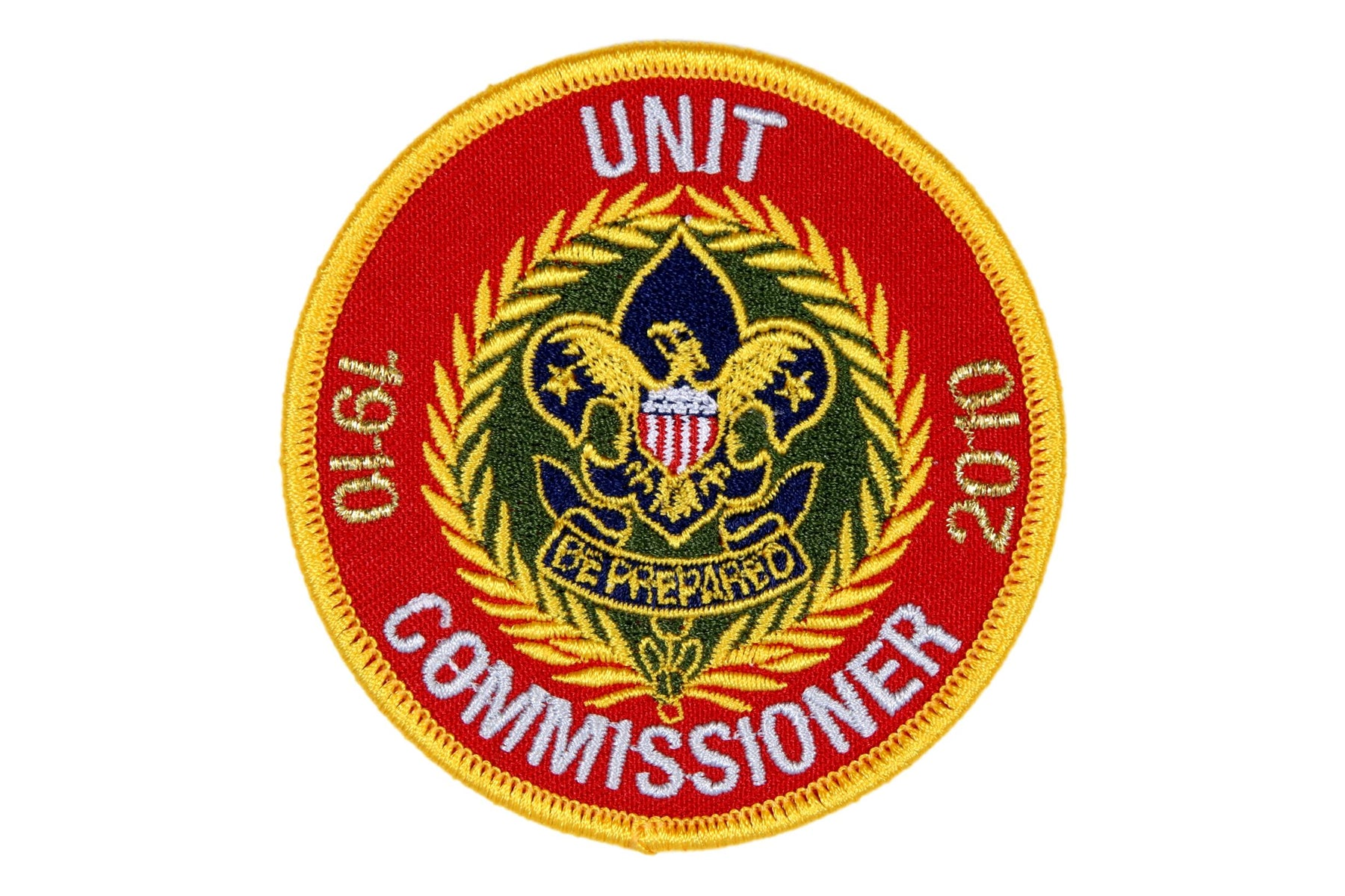 Unit Commissioner Patch 2010