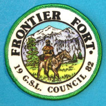 Great Salt Lake 1982 Frontier Fort Patch