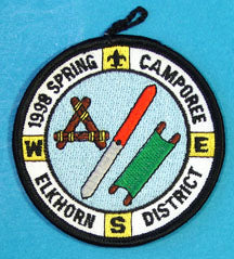 1998 Spring Camporee Elkhorn District Patch