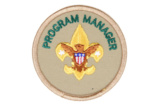 Program Manager Patch