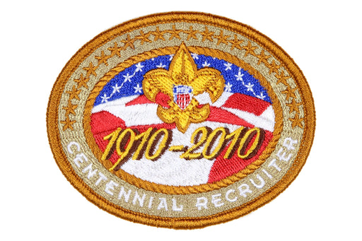 Recruiter Patch 2010 Centennial