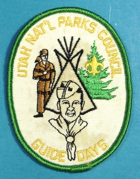 Utah National Parks Guide Days Patch