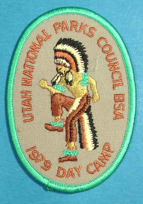 1979 Utah National Parks Blazer Day Camp Patch