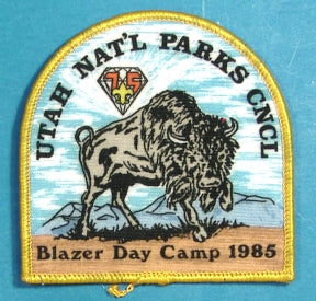 1985 Utah National Parks Blazer Day Camp Patch