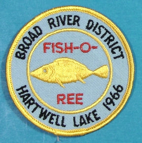 Broad River District 1966 Fish O Ree Patch
