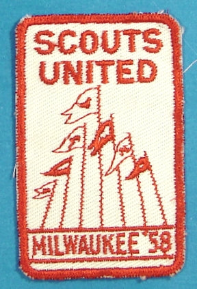 Milwaukee Camporee 1958 Scouts United Patch