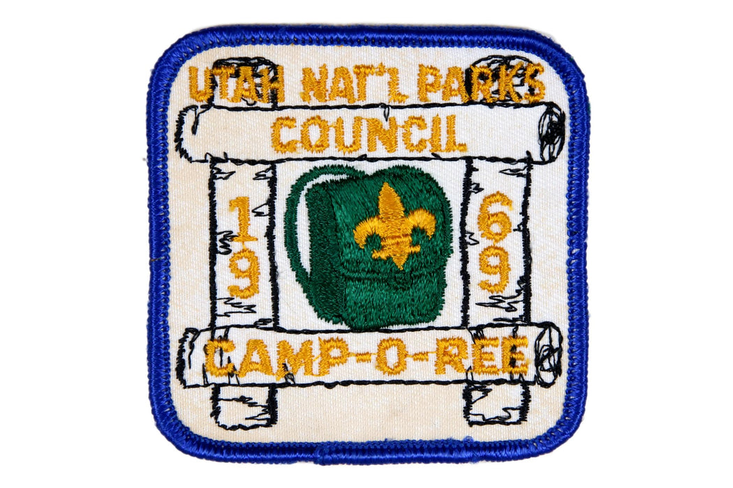 1969 Spring Camporee Patch