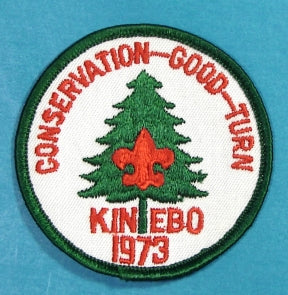 Kinebo 1973 Conservation Good Turn Patch